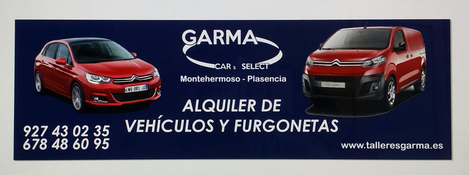 ALQULIER DE TURISMOS Y FURGONETAS EN PLASENCIA